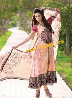 Mahiymaan Eid Collection 2012 by Al- Zohaib Textile