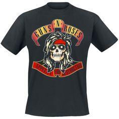 Bandana Skull Guns N' Roses, T-Shirt