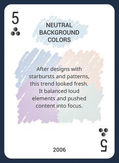 Custom Card Deck! Discover Web Design Trends 2004-2014 https://www.pinterest.com/templatemonster/win-the-web-design-trends-cards/ #webdesigntrends   #neutralbackground