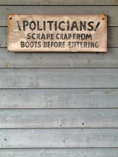 Politicians!