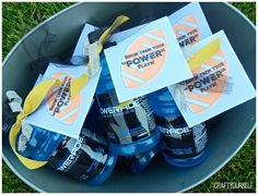 Football Team Spirit treat with free printable - . #NotSoFastMom #CollectiveBias #ad
