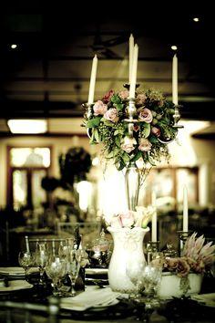 Romantic table setting  Styling and flowers by Splendid Affairs  www.blog.splendidaffairs.co.za