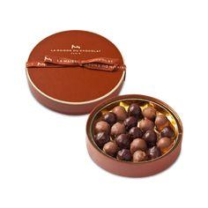 Coffret de chocolats noir et lait - La Maison du chocolat