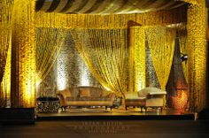 only marigold option Wedding Stage Decorations, Wedding Themes, Wedding Ideas, Mehndi Decor, Mehendi, Gold Wedding, Wedding Ceremony, D Day, Dream Decor