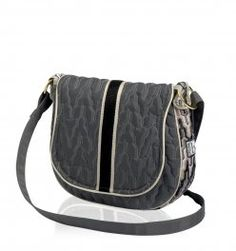 cinda b Saddle Bag $82.00 in Empire Slate