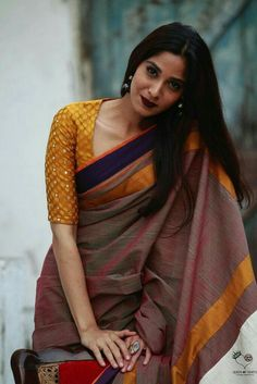 Simple Ethnic Saree Outfit for women #outfit #ethnic