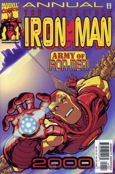 IRON MAN 2000, MARVEL, 2.000, USA