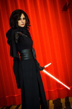 Kylo Ren from Star Wars: The Force Awakens Cosplay http://geekxgirls.com/article.php?ID=7386