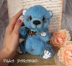 bear Artist teddy, bear soft stuffed animals toy, art plushies, OOAK, collectible bear. RESERVED