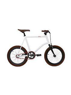 Martone Cycling Co. Mia Compact Bike (Parent) - White-Brown