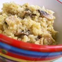 Chicken and Mushroom Risotto by Jo Whitton