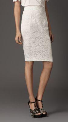 #us.burberry.com          #Skirt                    #LACE #PENCIL #SKIRT      LACE PENCIL SKIRT                                   http://www.seapai.com/product.aspx?PID=176894