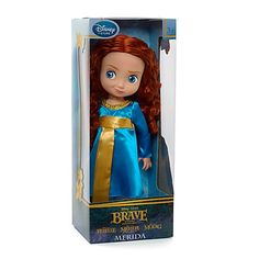 Disney Brave Merida Toddler Doll