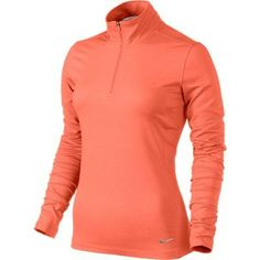 Dri-Fit fabric in these womens half zip key golf cover ups by Nike helps to wick away moisture for a comfortable feel! Golf Attire, Golf Outfit, Nike Womens Golf, Women Nike, Nike Golf, Best Golf Club Sets, Nike Half Zip, Golf Wear, Womens Workout Outfits
