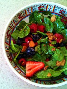 Nuts about Berries Salad (like Zupas)