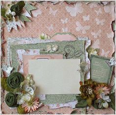 Scrapbook layout...