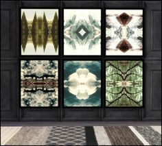 HVIKIS - Nature's palette - paintings + rug collection 5