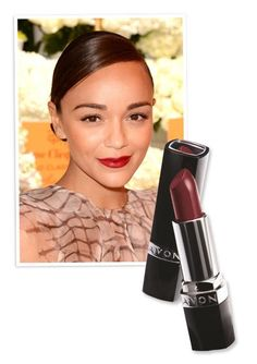 Try This Look Tonight: A Bold Red Lip - ASHLEY MADEKWE from InStyle.com Avon Ultra Color Lipstick in Cherry Jubilee. shop this at www.youravon.com/coloradoriver