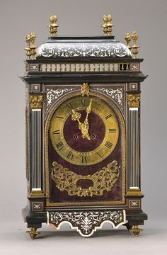table clock, France, around 1870