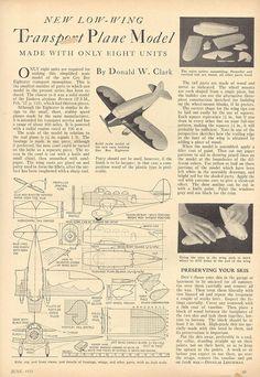 Transport Plane Model 1935 p4 by pilllpat (agence eureka), via Flickr