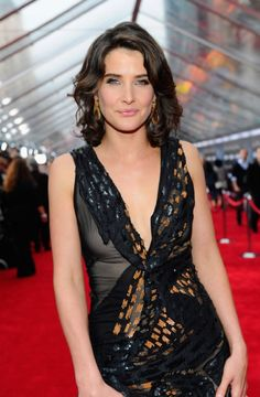 Cobie Smulders at event of The Avengers