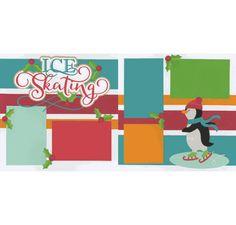 Ice Skating Page Kit
