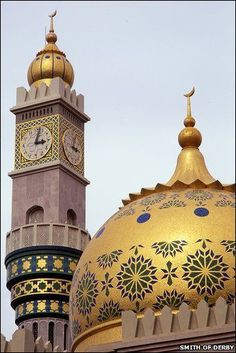 Travel Inspiration for Oman - Asma Mosque, Muscat, Oman Built by Smith of Derby in 1986