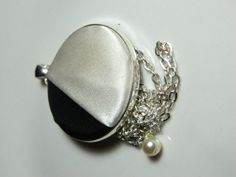 Black and White Necklace Black and White by masterPEACEdesign, $19.50