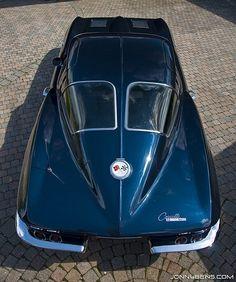 1963 Chevrolet Corvette Stingray (Split Window Coupe). @Deidré Wallace