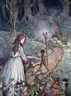 The Lilac Fairy Book | Folio Illustrated Book