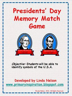 Free memory game for Social Studies
