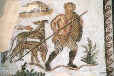 From the Seigneur Julius mosaic, Carthage 4th century AD, Bardo Museum