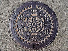 Ayakami,Kagawa manhole cover