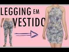 ✂️TRANSFORME LEGGING EM VESTIDO - camila modesto - YouTube