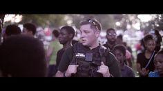 Wichita Ks, Black Lives Matter Police Cookout [ DANCING COP ]