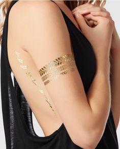 Temporary Metallic Tattoo - New Arrivals - La Senza Lingerie