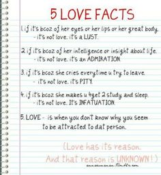 love and attraction difference