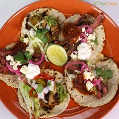 Mario Batali's Build Your Own #Tacos #TheChew