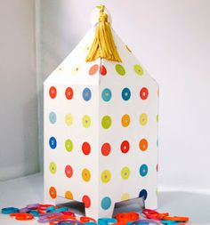 How to make a paper lantern DIY tutorial