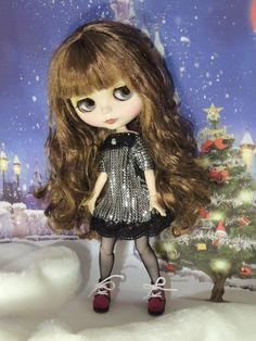 """Dress """"Silver disco"""" for Blythe/Neo Blythe dolls by Dress4bjd on Etsy"""
