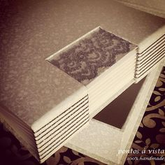 Caixa e livro de assinaturas para casamento