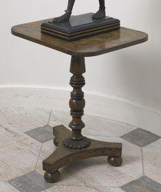 A Regency penwork tripod table circa 1820 |  $700-1,000