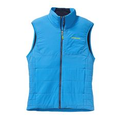 The Patagonia Men's Nano-Air® Vest is an insulation breakthrough designed for highly aerobic start-stop missions in the mountains. Put it on, #LeaveItOn.