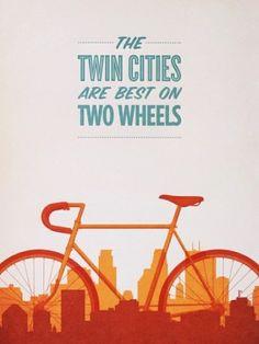 Bike vintage poster