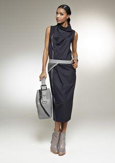 Платье I160979A-CM-04 Серый