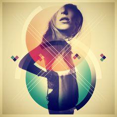 OH MY. Color, type, geometric love. #design