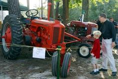 Antique Tractor at the State Fair of Virginia