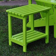 I pinned this Providence Side Table in Lime from the Backyard Bliss event at Joss and Main!