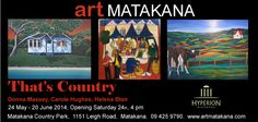 Art Matakana > Exhibitions > 'That's Country' May 14'