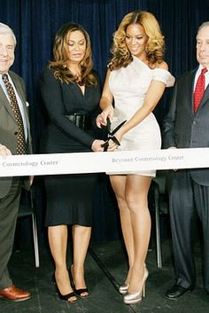 Who knew Beyonce started a cosmetology school?! Pretty cool.